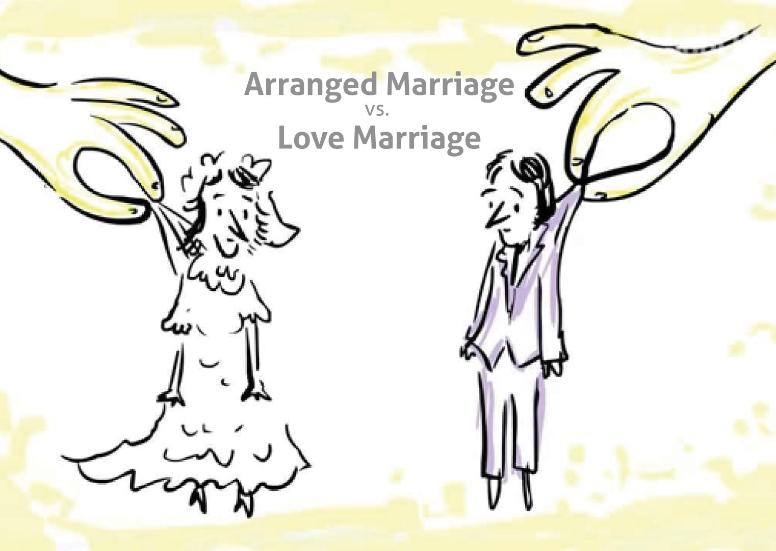 arrange marriage or love marriage Love marriage or arranged marriage there are host of factors that will decide how a person will envisage a marriage and pursue for a final decisionfrom the face and figure of the 'would be' spouseetc etcto his professional background, life style, earning potential.