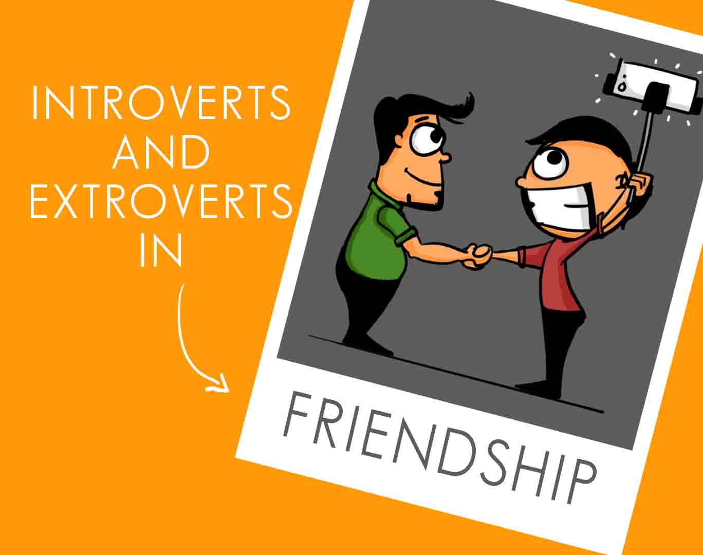 extrovert and introvert Have you wondered whether you're an introvert or extrovert (or maybe you're both) read this article and find out what personality type you are.