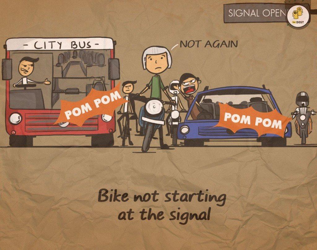 bike not starting