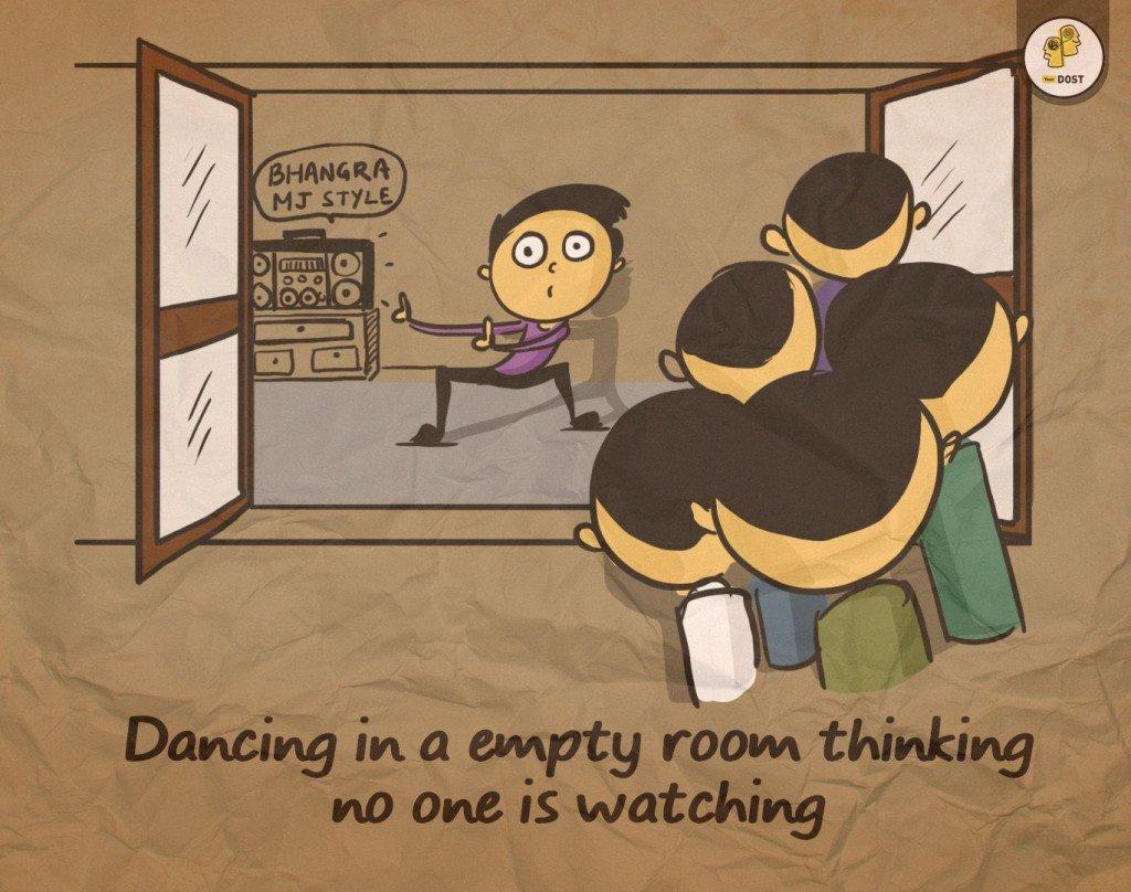 secret dance not so secret