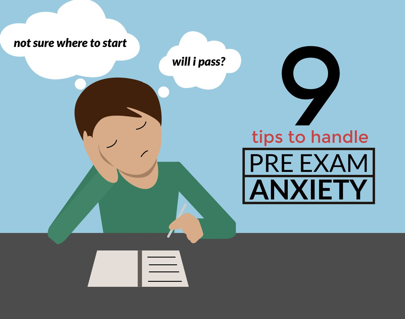 9 proven tips to handle pre exam anxiety altavistaventures Images