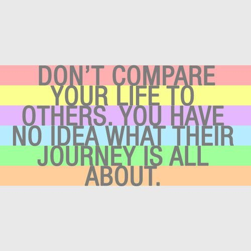 Dont-Compare-Your-Life