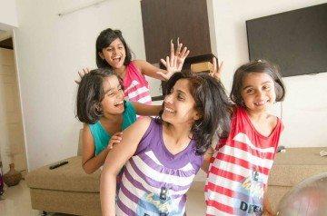 Veena Theresa-daughters