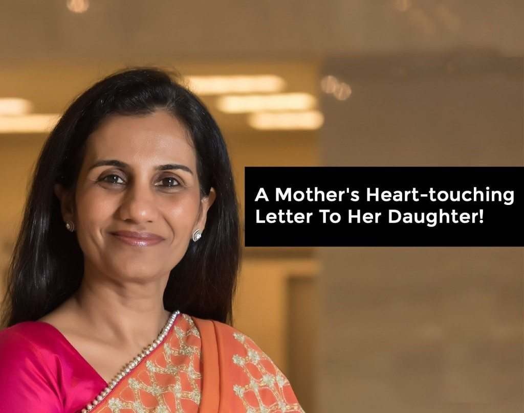 A mothers heart touching letter to her daughter chanda kochhar letter mother indian altavistaventures Choice Image