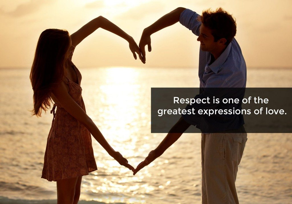 The importance of respect in a relationship