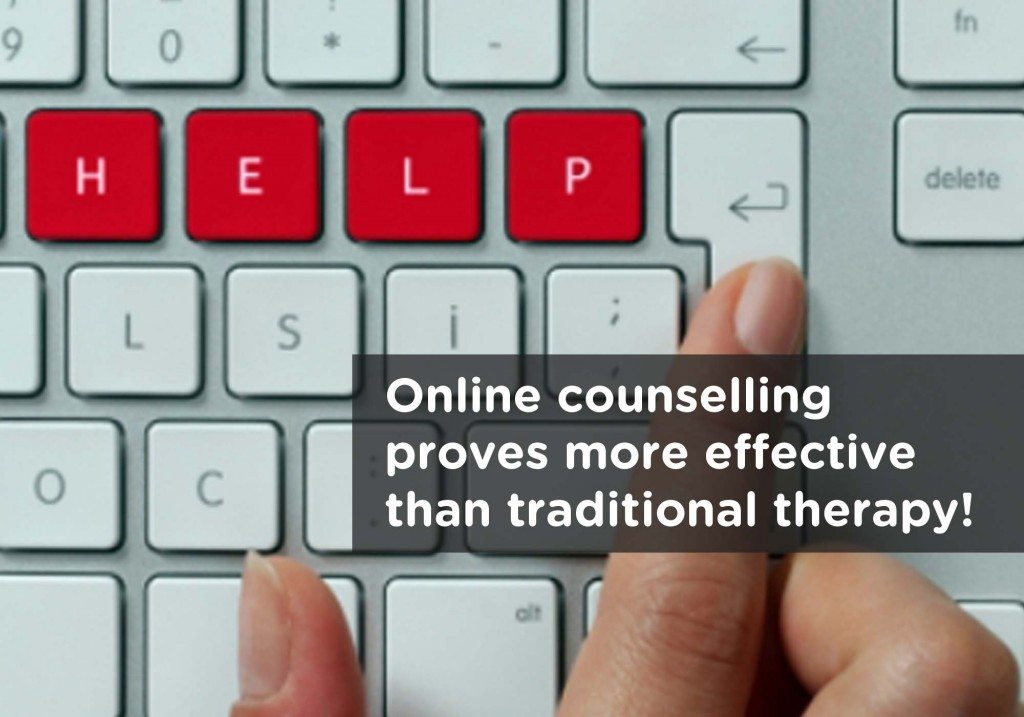 Online counselling is more effective