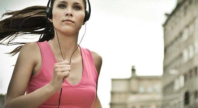 listen to music during your workout