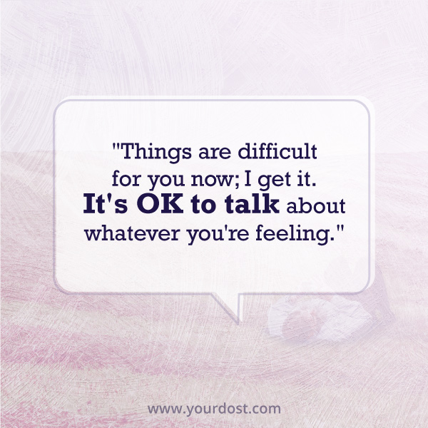 It's ok to talk