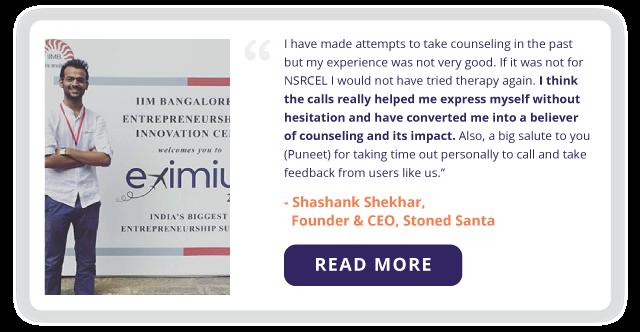 Shashank Shekhar, Founder & CEO, Stoned Santa