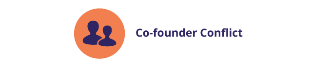 Conflict with co-founders