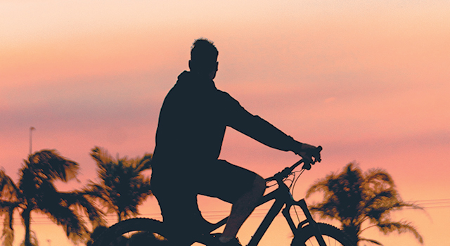 Cycling and physical workout