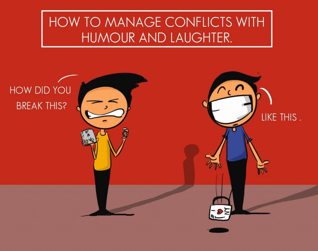 humor humour conflicts use why should