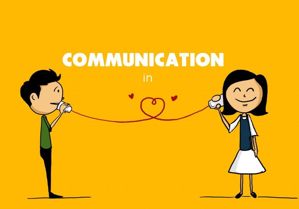 Global Communication Between People vector illustration ... |Communication Between People
