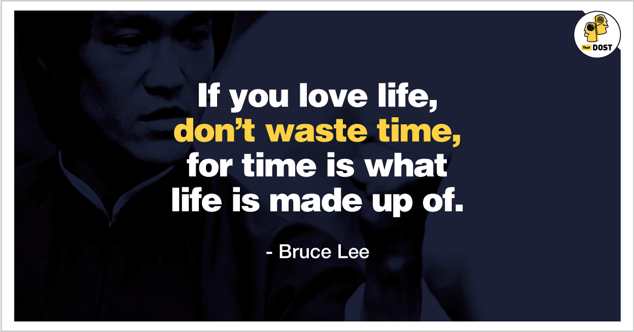 Quotes: Don't Waste Time